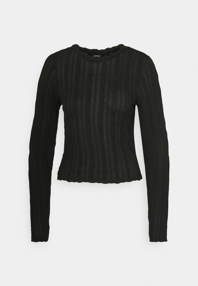 ONLKELLY CROPPED  - Longsleeve - black
