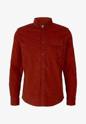 MIT BRUSTTASCHE - Overhemd - chili oil red