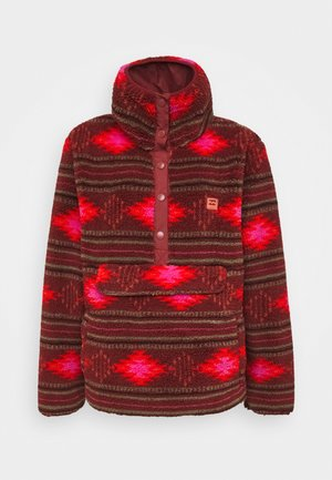 SWITCHBACK - Fleece jumper - chestnut