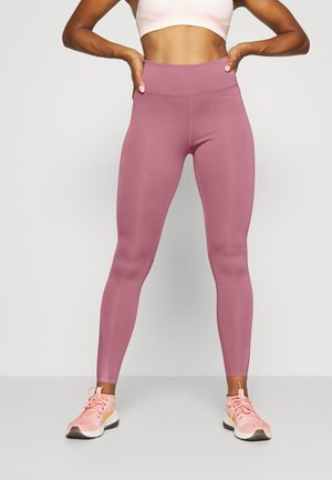 ONE 7/8  - Leggings - desert berry/black