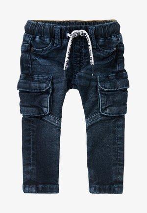 Slim fit jeans - black blue wash
