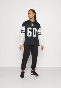 Fanatics - NFL LAS VEGAS RAIDERS FRANCHISE SUPPORTERS - Club wear - black - 1