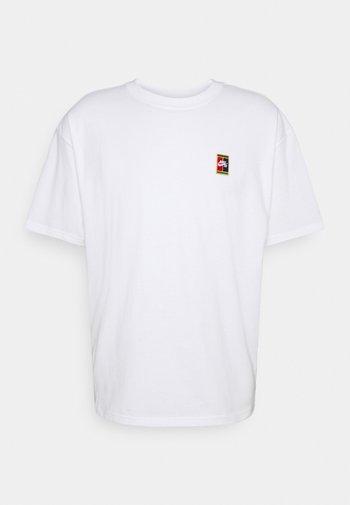 TEE HEADER UNISEX - Print T-shirt - white