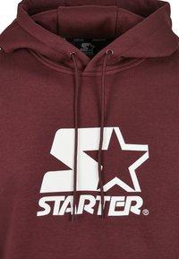 Starter - CLASSIC  - Sweat à capuche - oxblood - 2