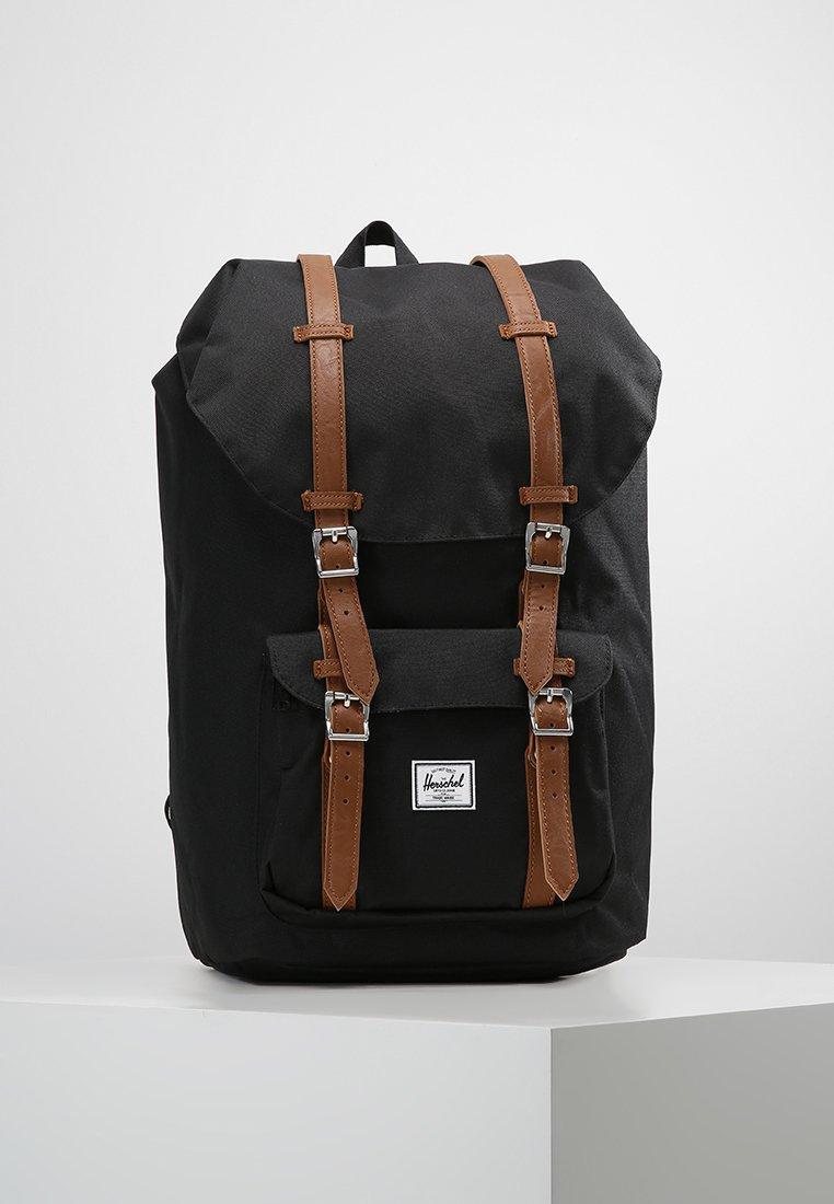 Herschel - LITTLE AMERICA  - Reppu - black