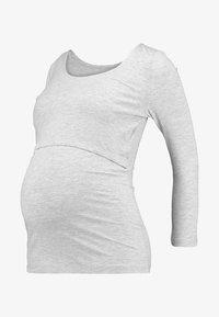 Zalando Essentials Maternity - Longsleeve - mottled light grey - 5