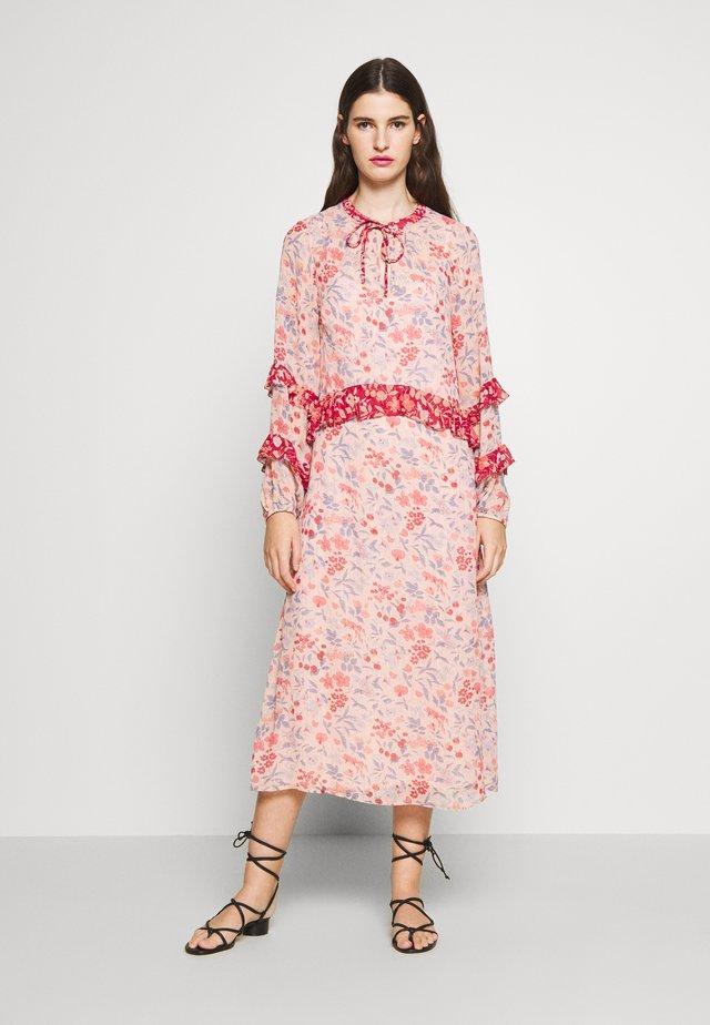 RINA DRESS - Maxi šaty - pink jasmine