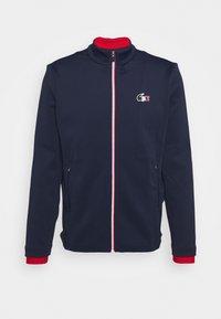 OLYMP TRACK JACKET - Training jacket - navy blue/white/red