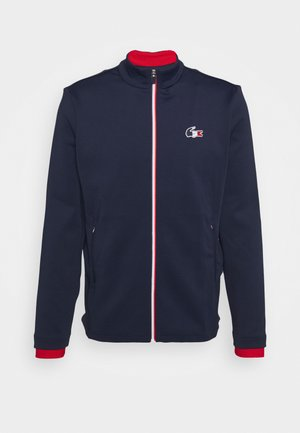 OLYMP TRACK JACKET - Verryttelytakki - navy blue/white/red