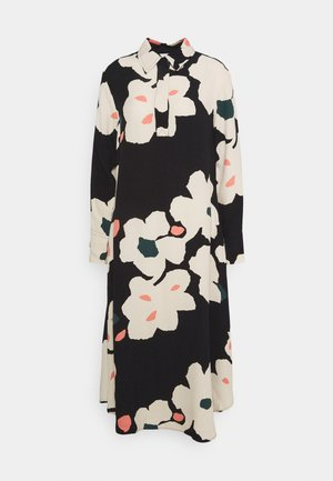 ARKUSSIINI LIITO DRESS - Robe d'été - black/beige/coral