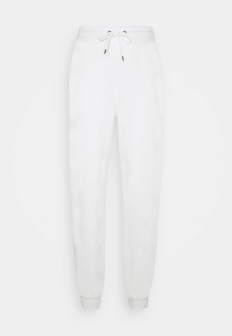 Monki - KARDI PANTS - Joggebukse - white light