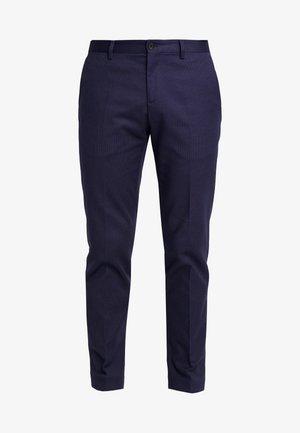 FLEX DOT PANTS - Suit trousers - blue