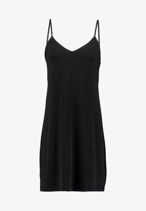 KRISTA SLIP DRESS - Trikoomekko - black