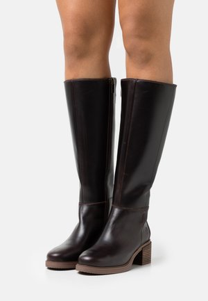 DALSTON VIBE TALL BOOT - Boots - mid brown
