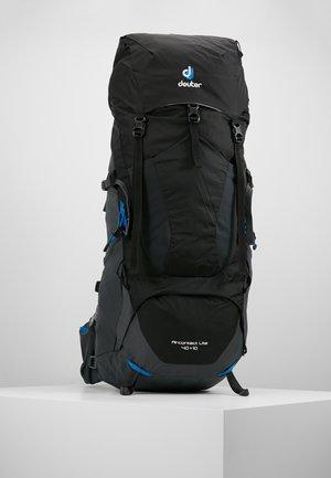 AIRCONTACT LITE 40 + 10 - Hiking rucksack - black/graphite