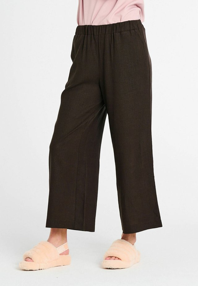 LARA  - Broek - dark brown