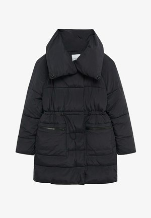 WOOD7 - Winter coat - schwarz