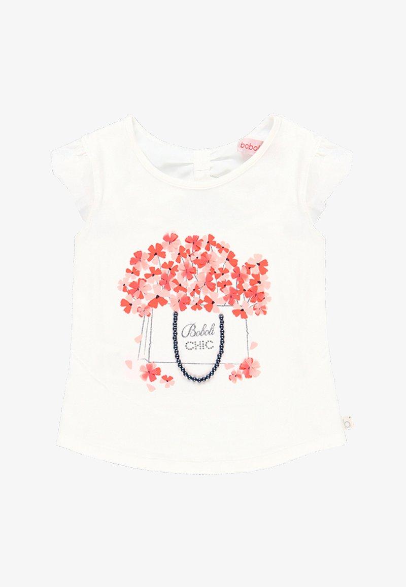 Boboli - Print T-shirt - off white