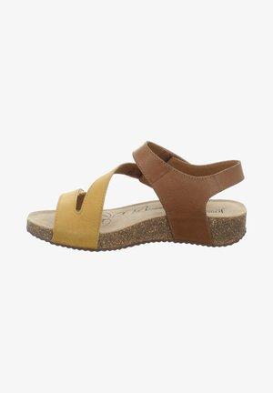 TONGA - Sandalen - gelb-kombi