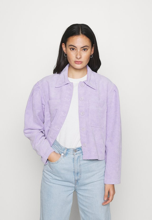 MADDIE JACKET - Summer jacket - lilac purple light