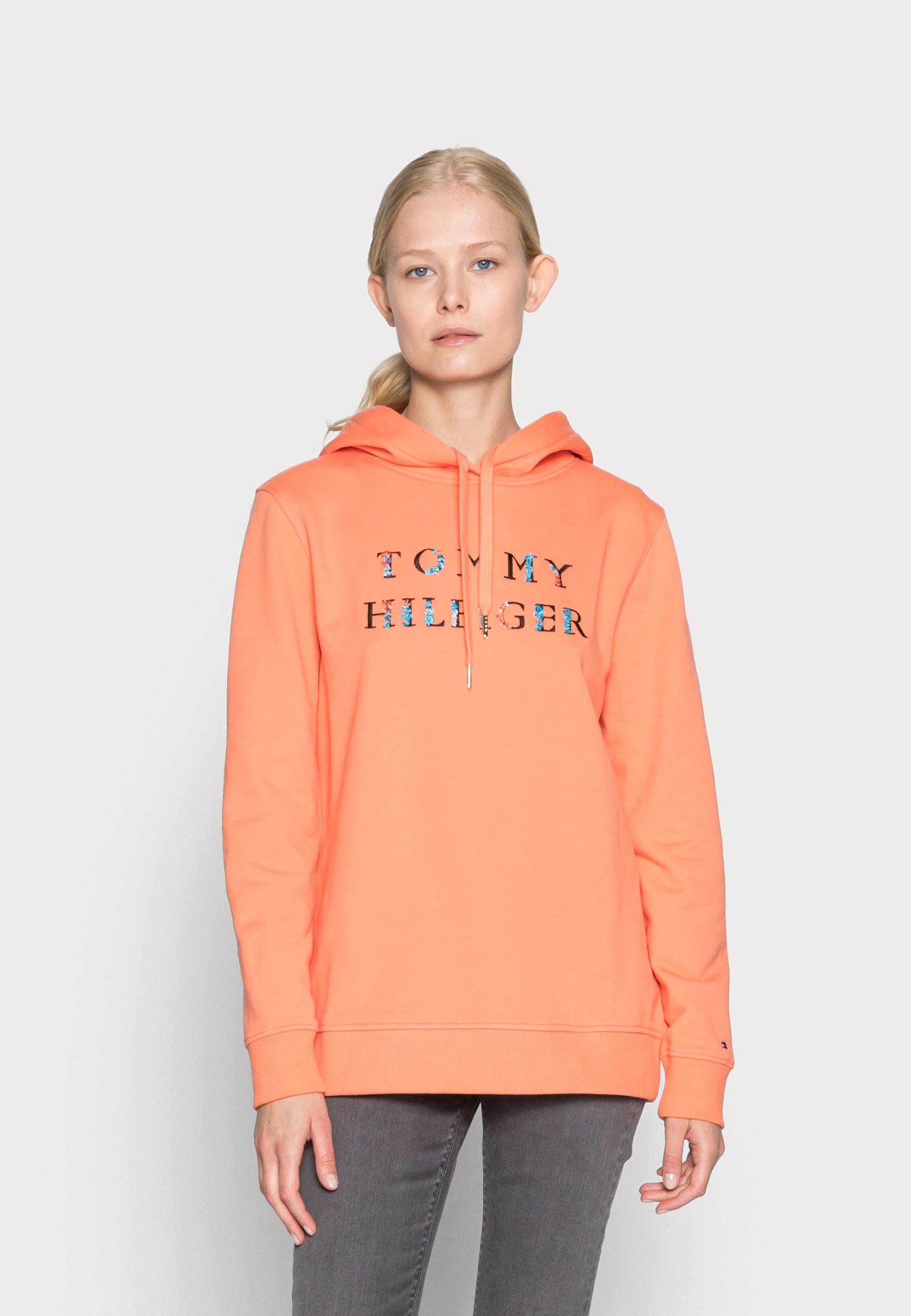 Women REGULAR FLORAL HOODIE - Sweatshirt