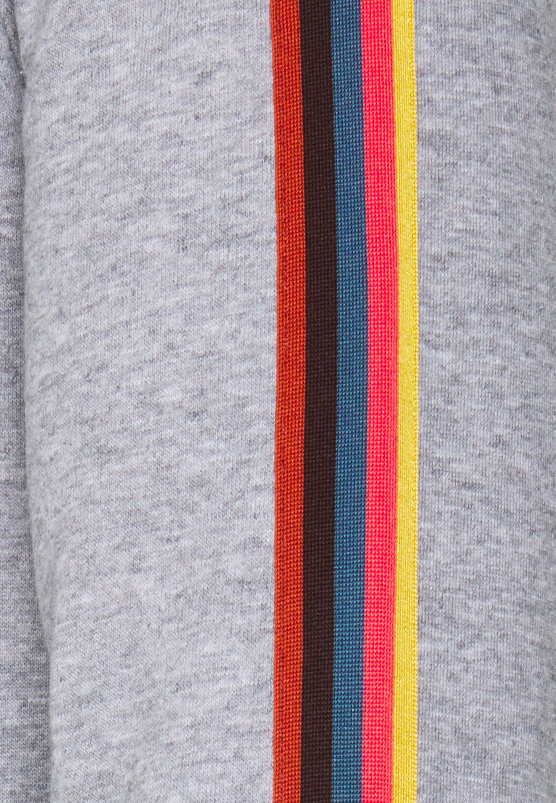 Paul Smith GENTS ZIP THROUGH TAPED SEAMS HOODY - veste en sweat zippée - mottled grey