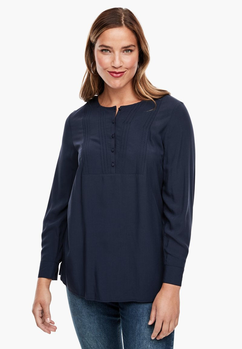 Triangle - Blouse - navy