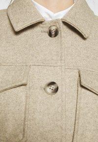 Vero Moda - VMBONUSRAY  - Classic coat - silver mink melange - 5