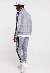 Night Addict - CHECK - Pantaloni sportivi - black/white - 2