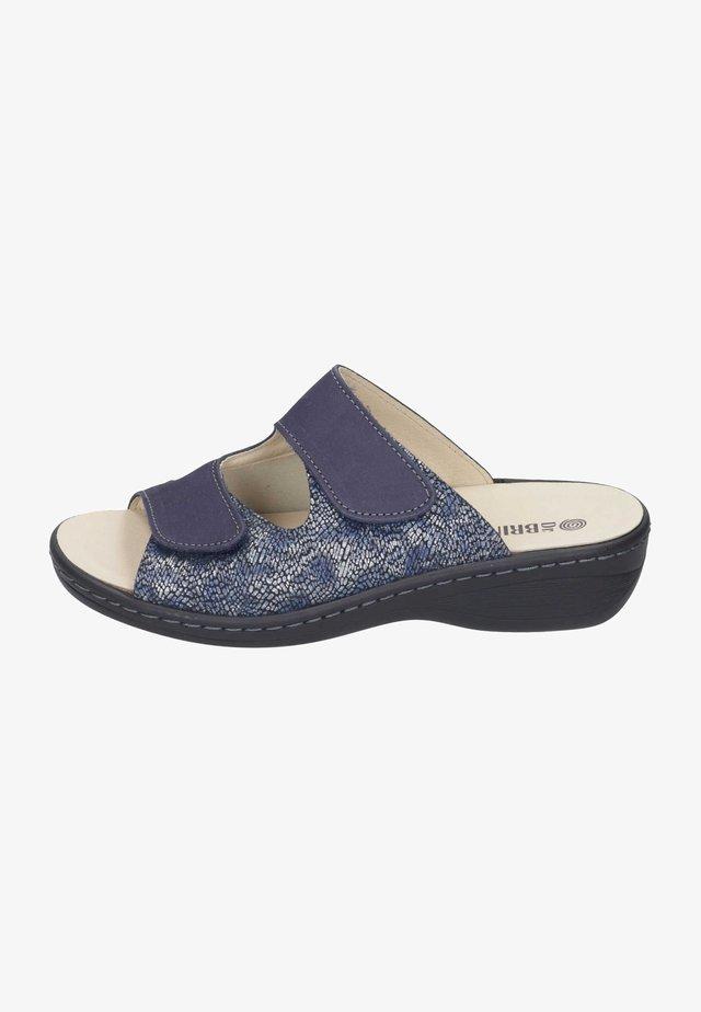 Mules - jeans/marine