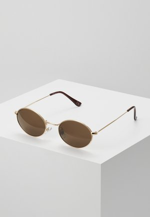 Sonnenbrille - gold/brown lens