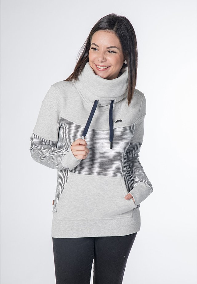 SUNSHINE - Sweatshirt - mottled light grey