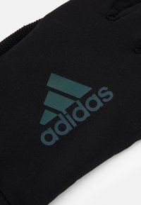 adidas Performance - RUN GLOVES UNISEX - Gloves - black - 2