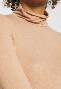 YAS - YASWOOLA - Long sleeved top - tawny brown - 4