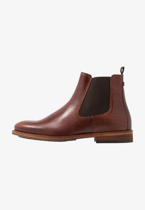 BEDLINGTON - Kotníkové boty - mahagony