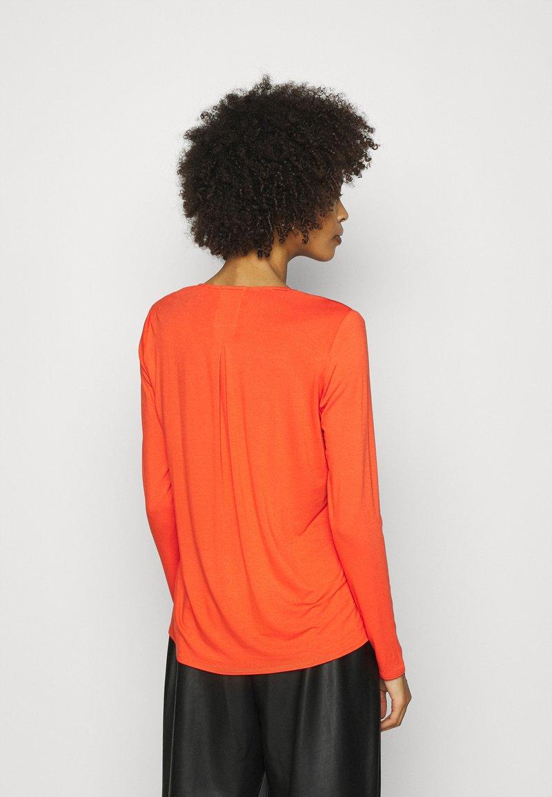 Opus - FASINA - Långärmad tröja - fresh coral