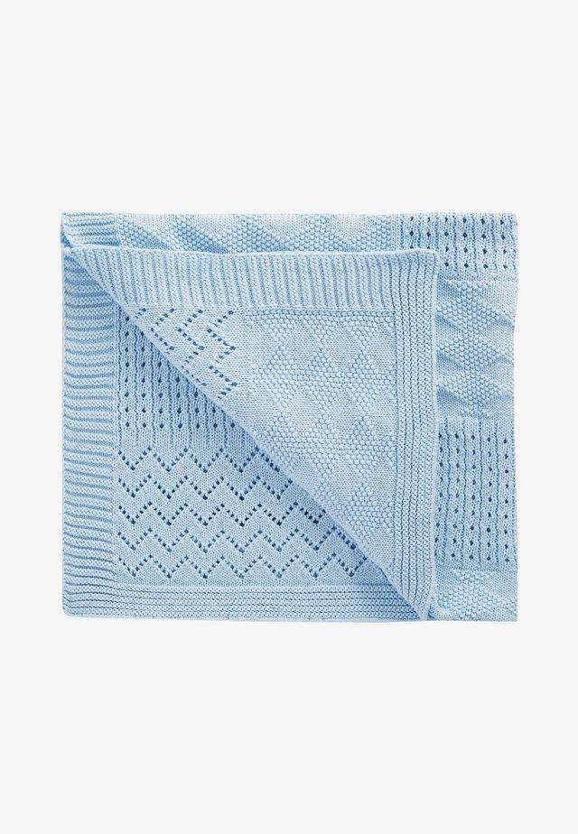 Coperta per neonati - blue