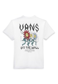 Vans - MN FLOWER POWER SS - T-shirt print - white - 1