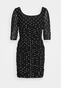LUCE DRESS - Shift dress - black