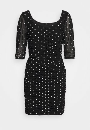 LUCE DRESS - Shift dress - black