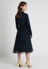 Lace & Beads Petite - MERLIN SKIRT - A-line skjørt - navy - 2