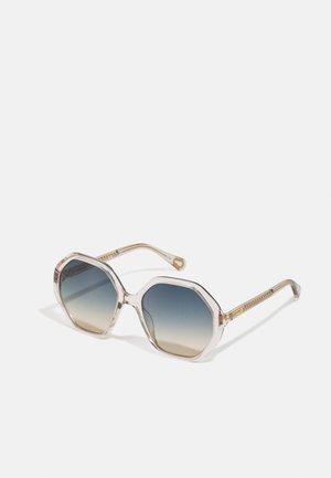 SUNGLASS KID UNISEX - Sluneční brýle - nude/green