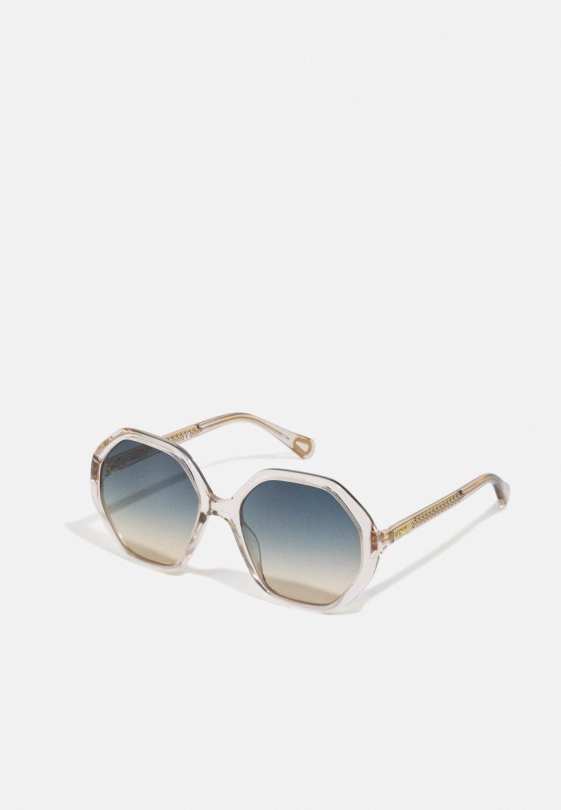 Chloé - SUNGLASS KID UNISEX - Sluneční brýle - nude/green