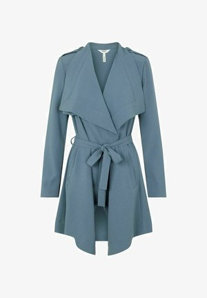 OBJANNLEE JACKET  - Trenchcoat - blue mirage
