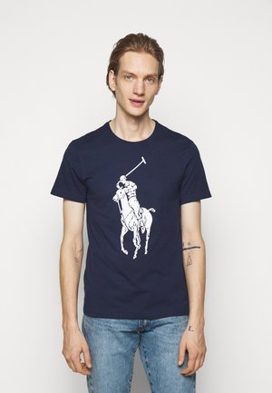 SHORT SLEEVE - Print T-shirt - newport navy