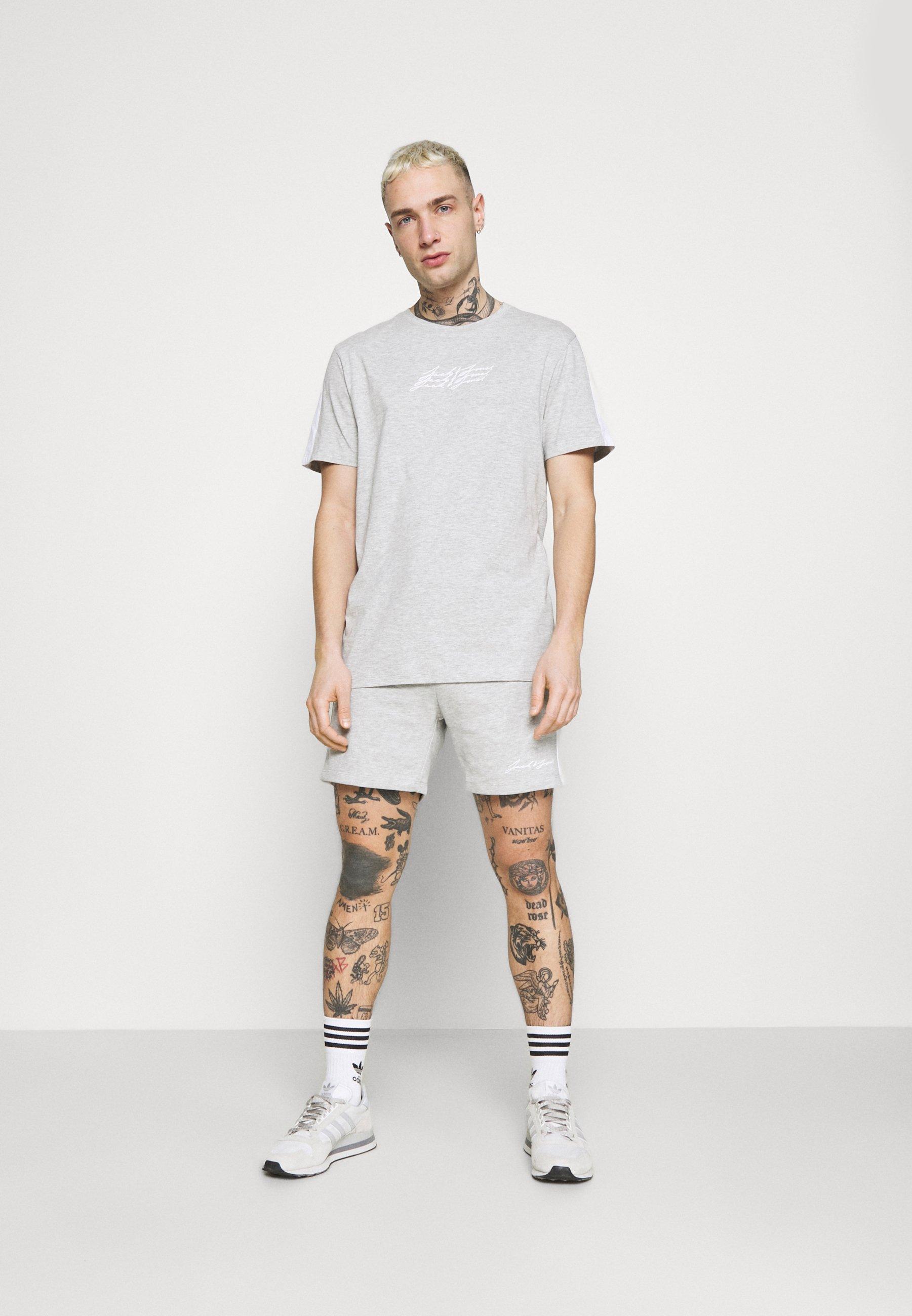 Men JOROMBRE SET - Print T-shirt