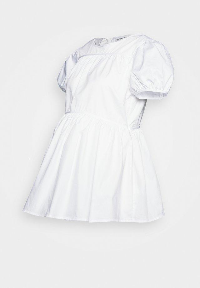 TIERED - Camicetta - white