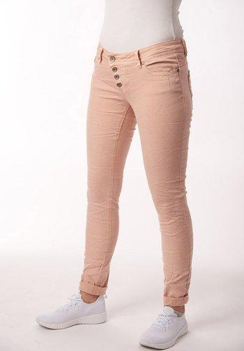 STRETCH - Jeans Skinny Fit - apricot