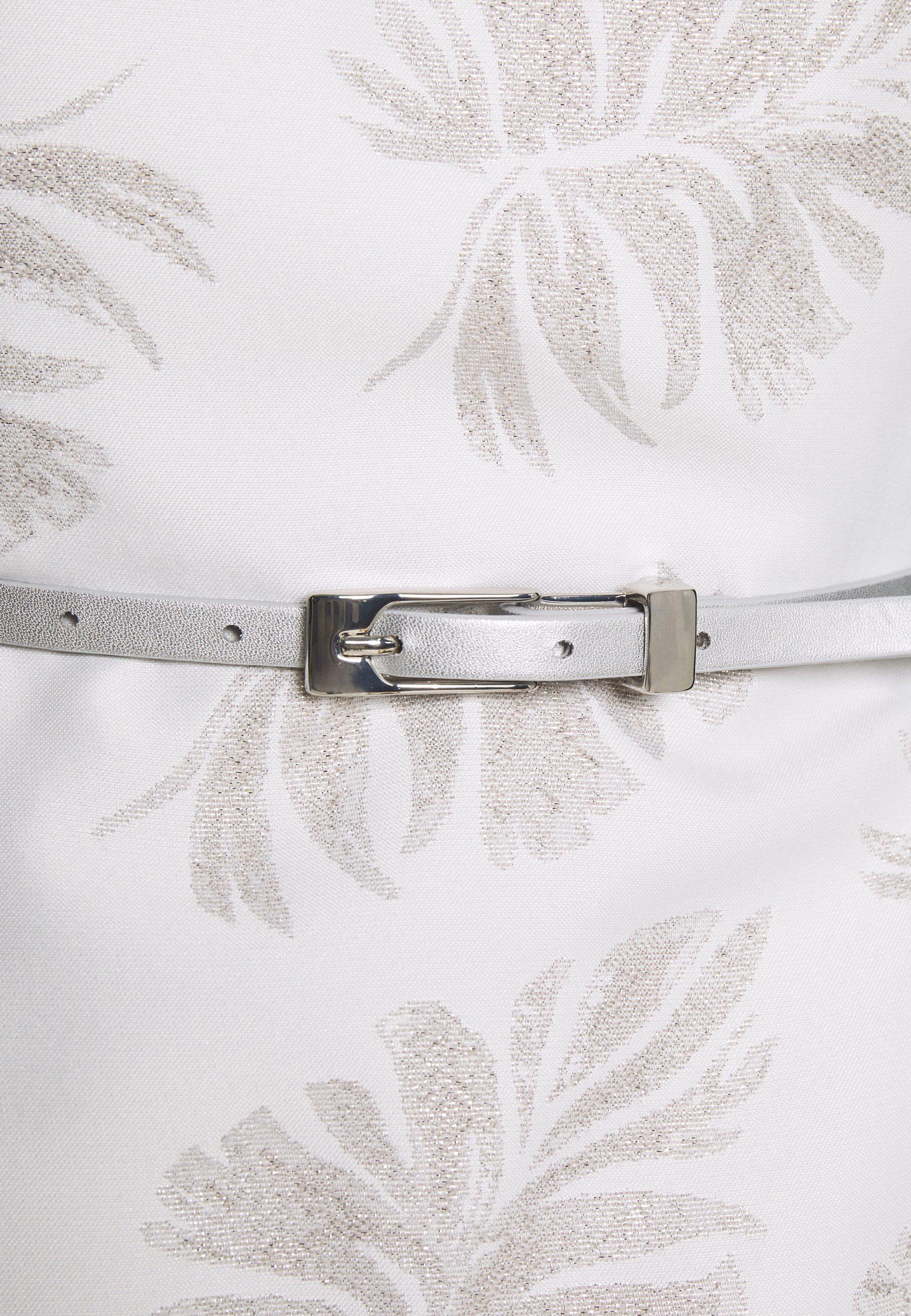 comma Robe de soirée - silver - Robes femme pUhTB