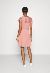 ONLY - ONLBILLA DRESS - Jersey dress - old rose - 2